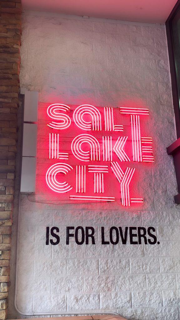 Salt Lake City on my Utah Road Trip