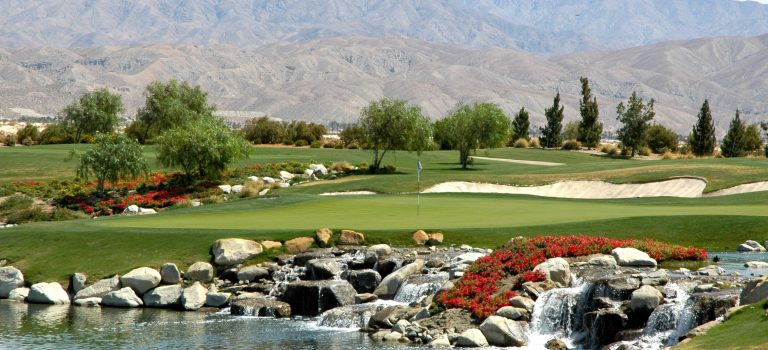 Golfing at The Classic Club Palm Desert