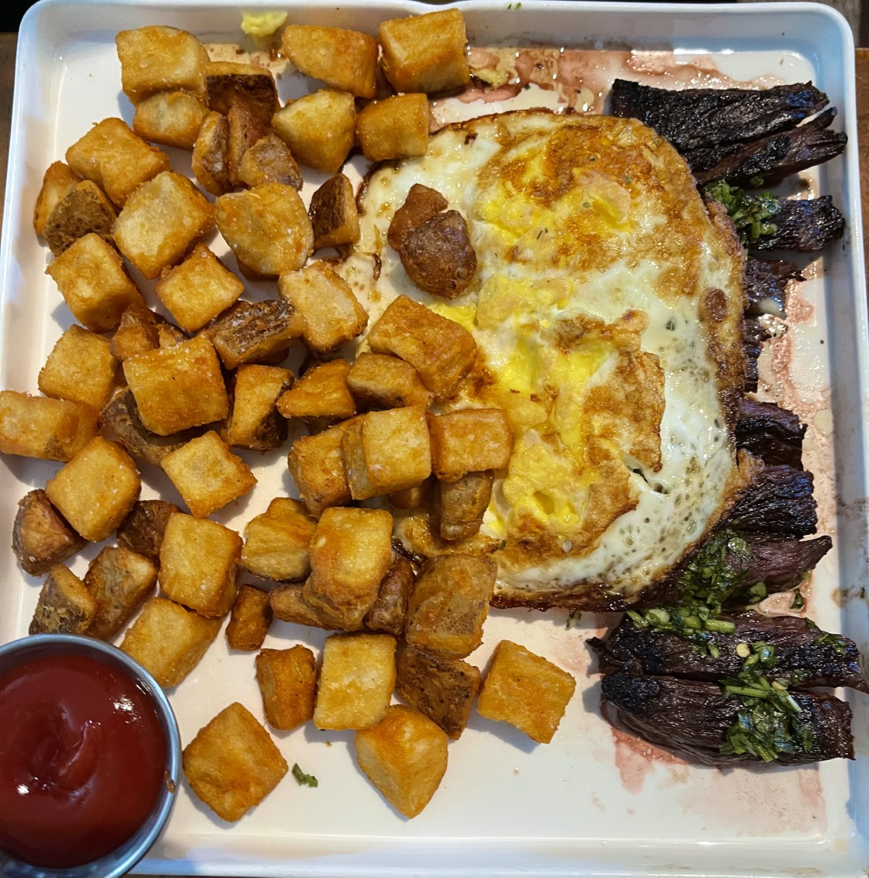 Chimichurri Steak & Eggs