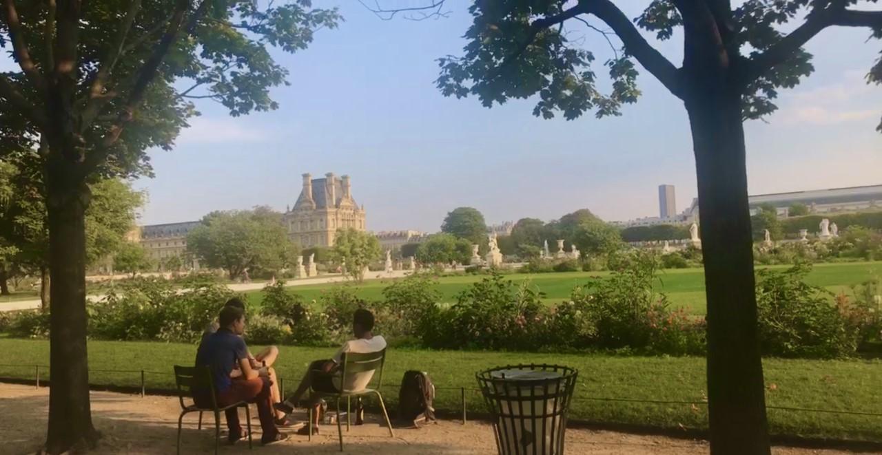 Garden of Tuileries Paris