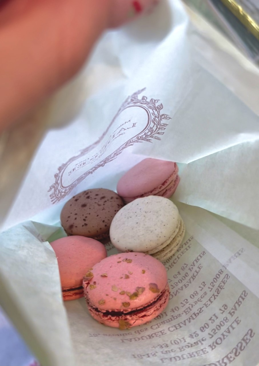 Macaroons from Ladurée Beverly Hills