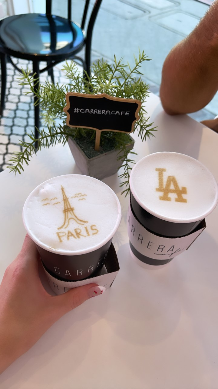 From the cutest coffee shop in LA