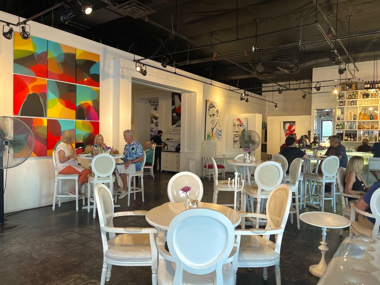Eight 4 Nine Pink Palm Springs Restaurant Interior