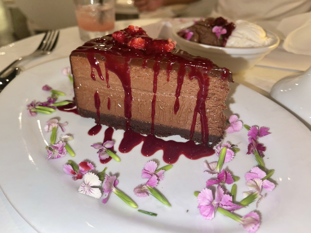 Eight 4 Nine Restaurant Flourless Chocolate Torte