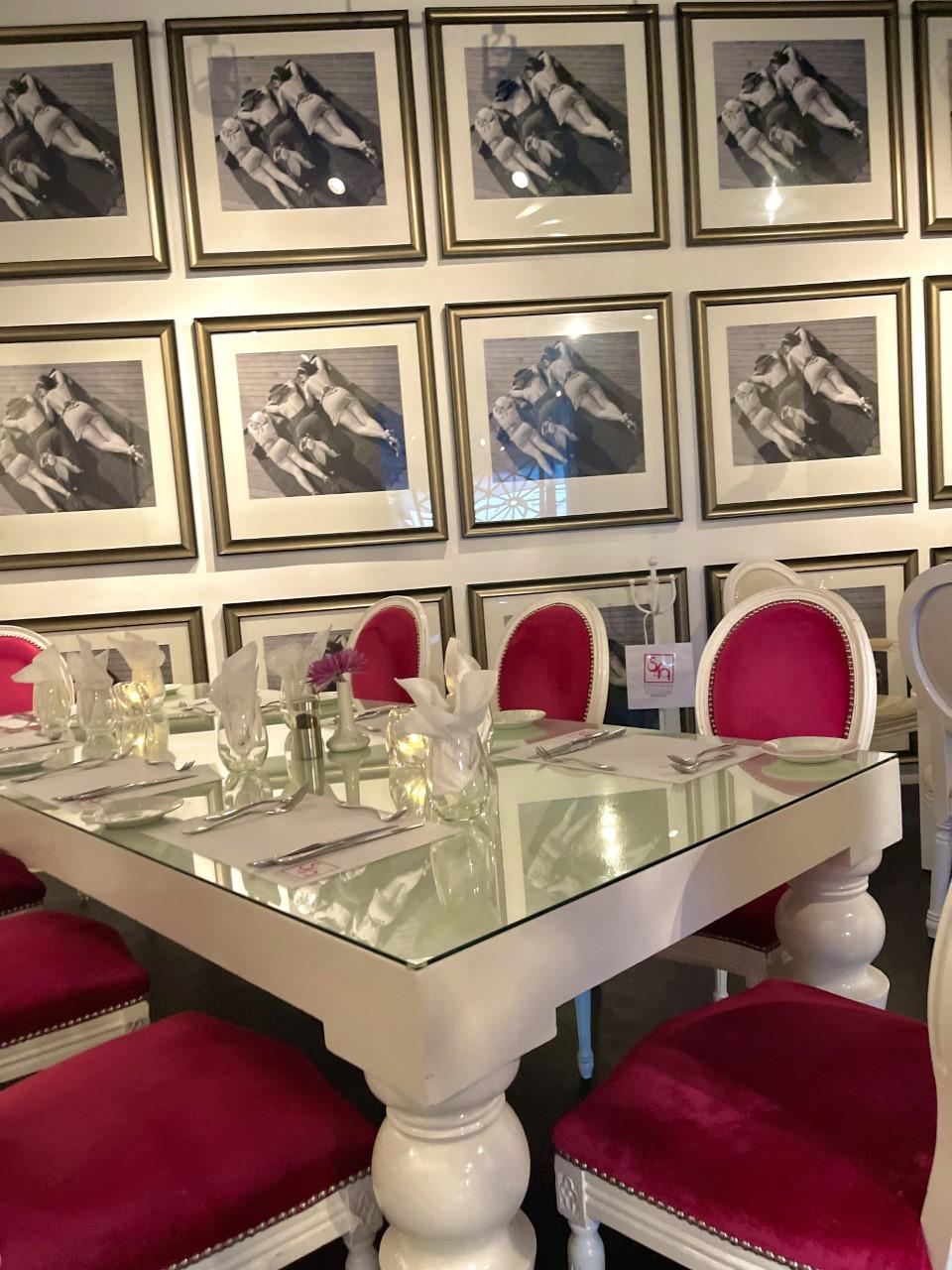 Eight 4 Nine Pink Palm Springs Restaurant Art